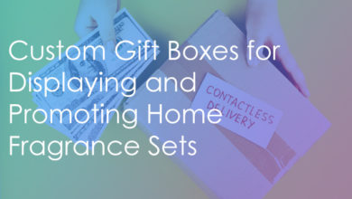 Photo of Custom Gift Boxes for Displaying and Promoting Home Fragrance Sets